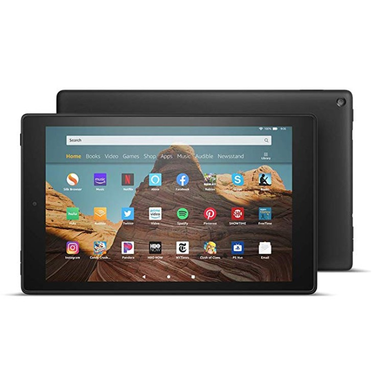 Amazon Fire HD 10 Tablet with Alexa 10.1″ (9th generation)