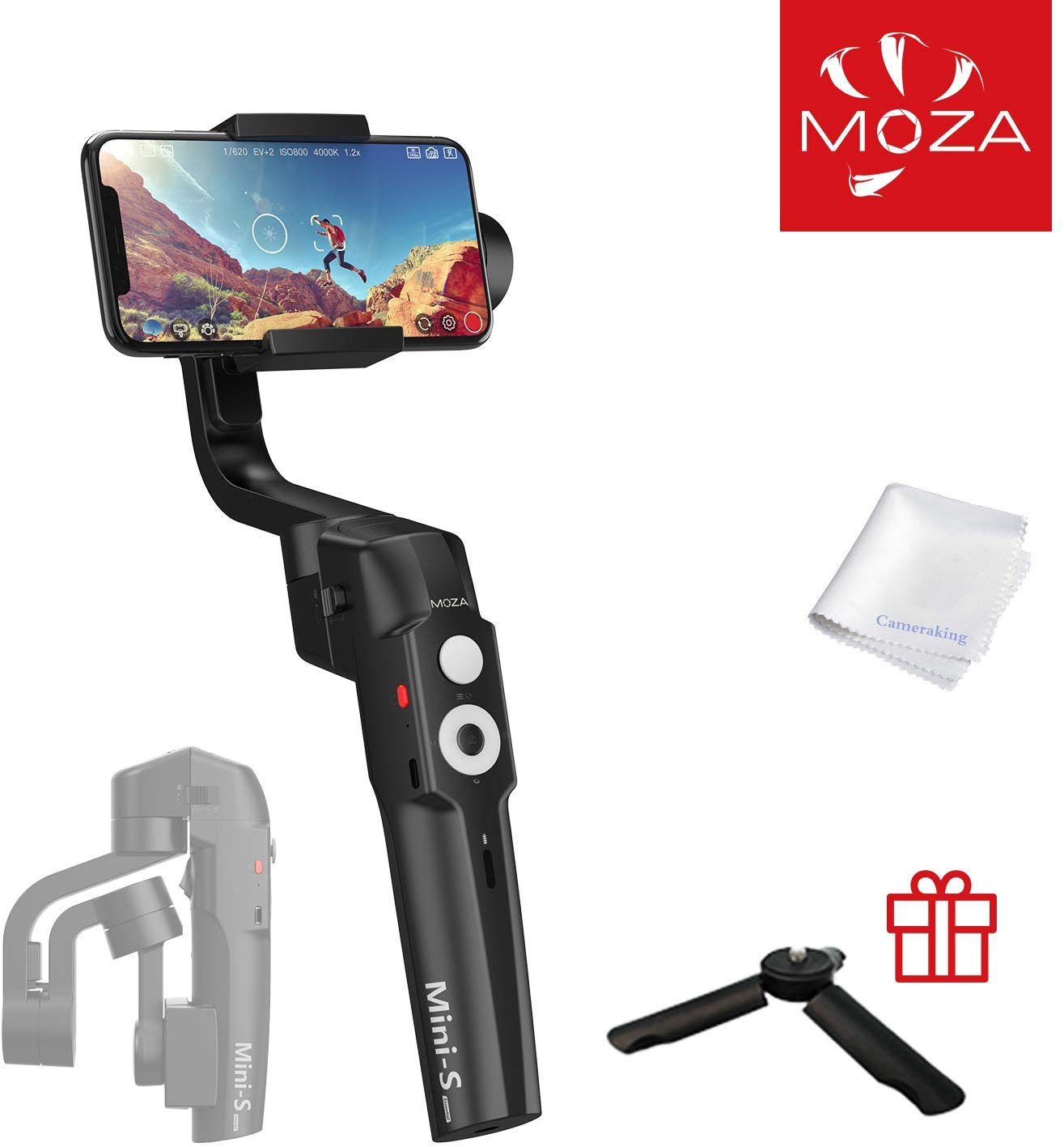 MOZA Mini-S  Gimbal stabilizer for Smartphone